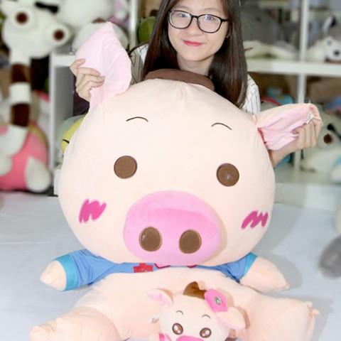 Heo bông I Love You-80cm