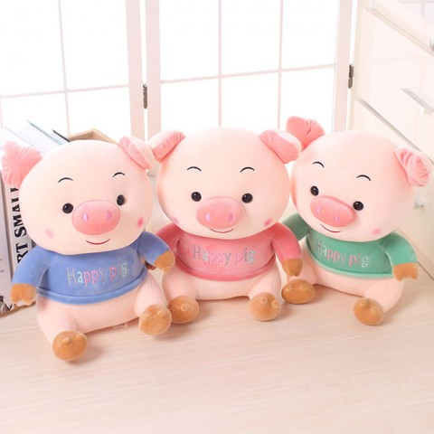 Heo bông Happy Pig