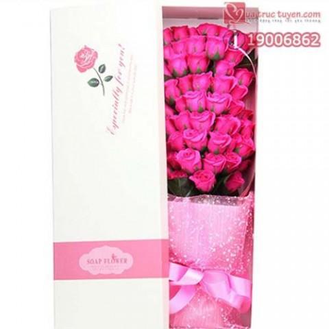 Hoa hồng phấn 51 bông Gift Set