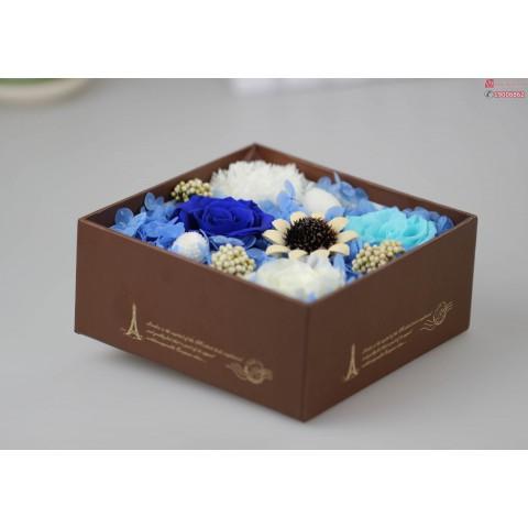 hoa-hong-bat-tu-hop-gift set-3-bong-xanh-indigo-xanh-navy-trắng-1