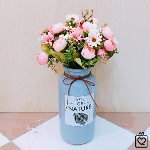 Lọ hoa dáng trụ Love Nature