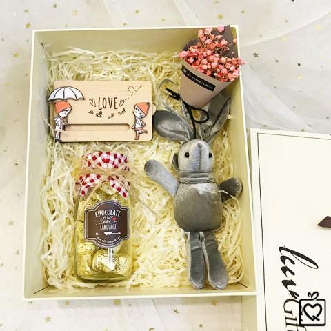 Quà tặng Valentine - Set Honey Bunny (Người yêu bé nhỏ)