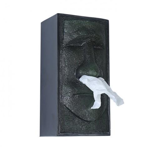 Hộp đựng giấy nghệ thuật tượng đá Moai