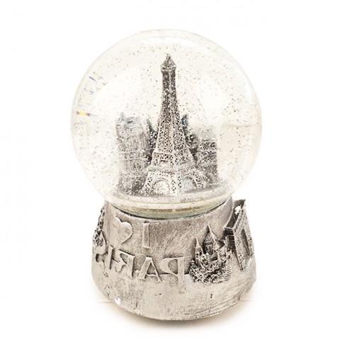 Hộp nhạc quả cầu tuyết Paris