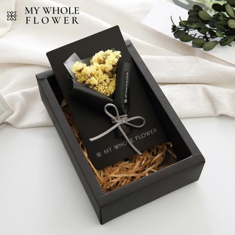 Hộp quà thiệp hoa khô B