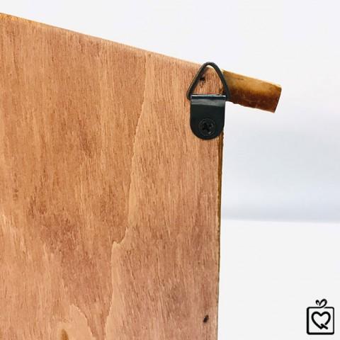 Kệ gỗ hình ngôi nhà phong cách Zakka
