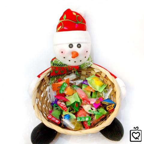 Giỏ đựng kẹo giáng sinh