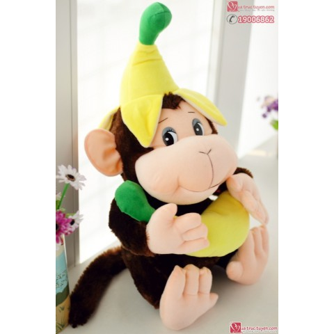 Khỉ bông đội chuối