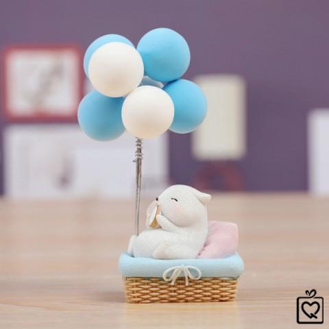 Khinh khí cầu Hamster mô hình trang trí
