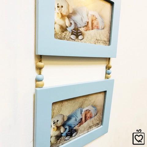 Bộ 3 Khung ảnh treo tường ký ức ngọt ngào 10x15cm
