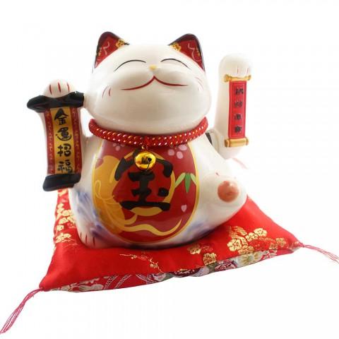 Mèo vẫy tay-Kim vận chiêu tài SW 361-18cm