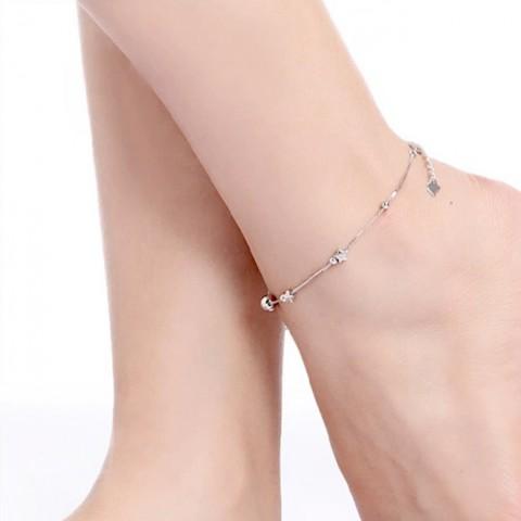 Lắc chân bạc ngôi sao