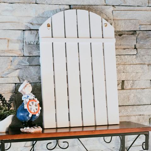 Lịch gỗ treo tường phong cách Coastal biển cả