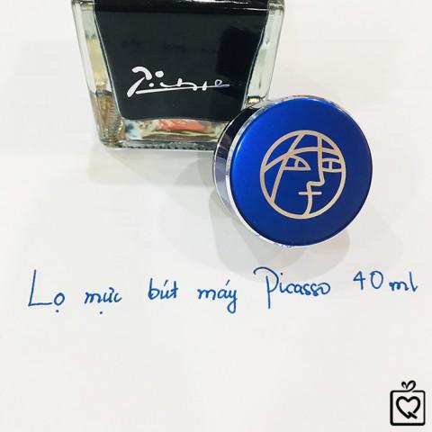 Lọ mực bút máy Picasso 40ml - Mực Xanh