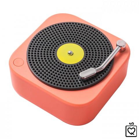 Loa Bluetooth mini máy hát đĩa than retro