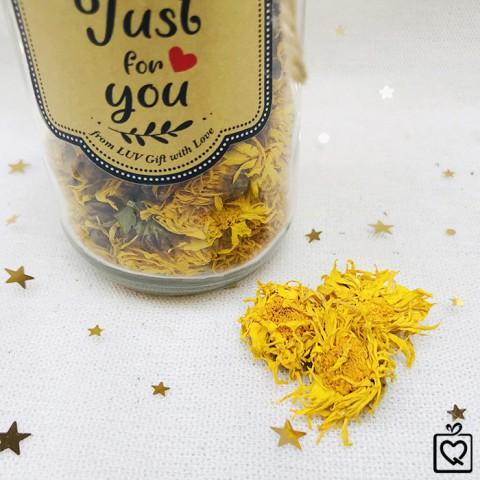 Lọ trà hoa kim cúc Sapa