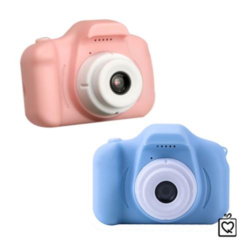 Máy ảnh, quay video kỹ thuật số mini độ phân giải cao màn hình 2inch cho bé tặng kèm thẻ SD 16GB