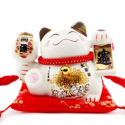 Mèo thần tài-Tài lộc 7071-15cm