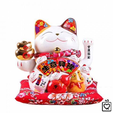Mèo vẫy tay - Làm ăn phát tài size nhỏ 20cm
