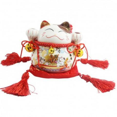 Mèo thần tài-Ngọc mãn đường 6088-11cm