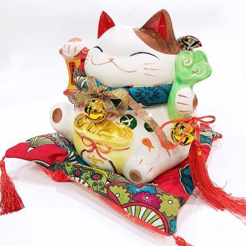 Mèo thần tài - Như ý cát tường SW 0902 - 22cm