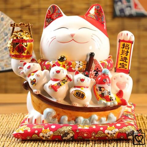 Mèo vẫy tay Kinh Doanh Đắc Lợi - 28cm