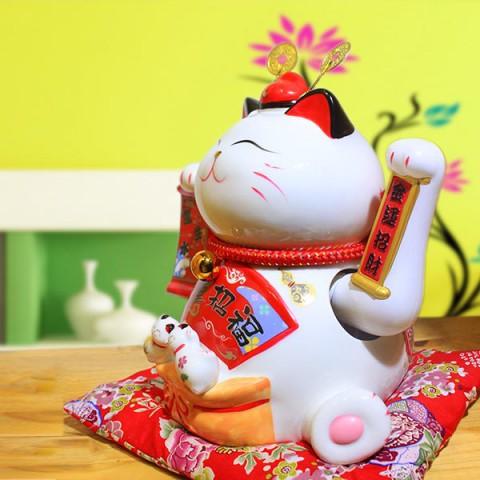 Mèo vẫy tay-Tài Lộc Tấn Tới 9002-24cm