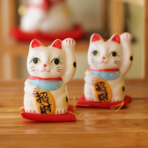 Mèo thần tài Chiêu Tài 164165 - 10cm