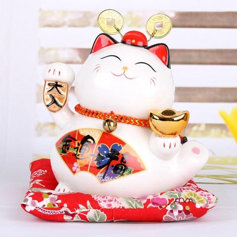 Mèo thần tài Đại Phát Đại Lộc - 15cm