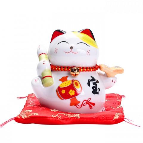 Mèo Thần Tài Học Hành Tấn Tới - 11cm