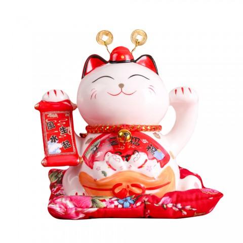 Mèo thần tài Tài Lộc Tấn Tới - 13cm