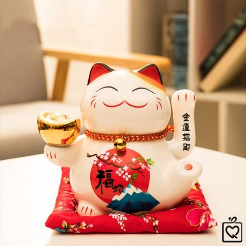 Mèo vẫy tay Cung Hỷ Phát Tài - 15cm
