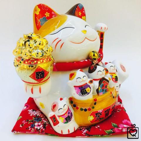 Mèo vẫy tay - Đại phú đại quý 25cm