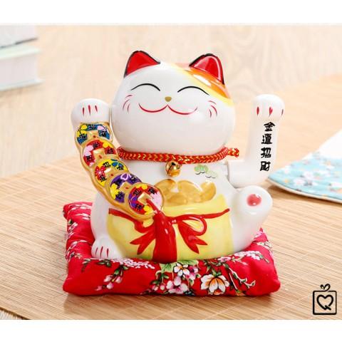 Mèo vẫy tay Tiền Bạc Rủng Rỉnh - 15cm