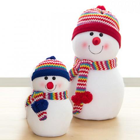 Mô hình người tuyết đội mũ len