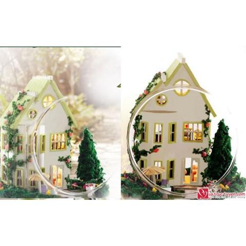 Mo hinh nha DIY Greenwood Villa2