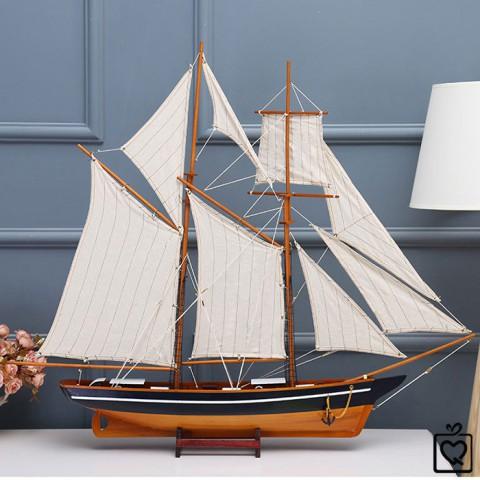 Mô hình thuyền buồm La BELLE POULE- 100cm