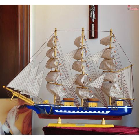 mo-hinh-thuyen-confection-xanh-80cm-8
