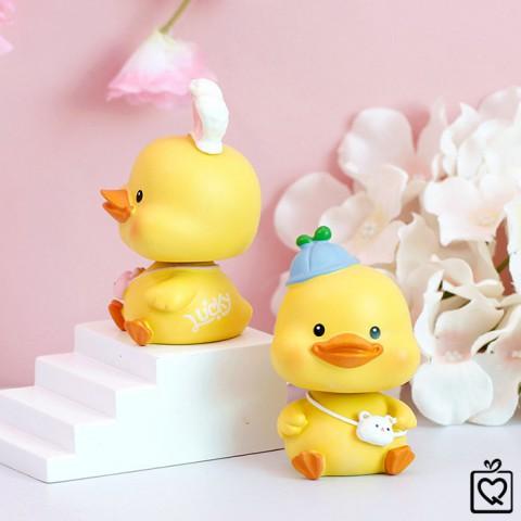 Mô hình vịt con lắc lư Crazy Duck