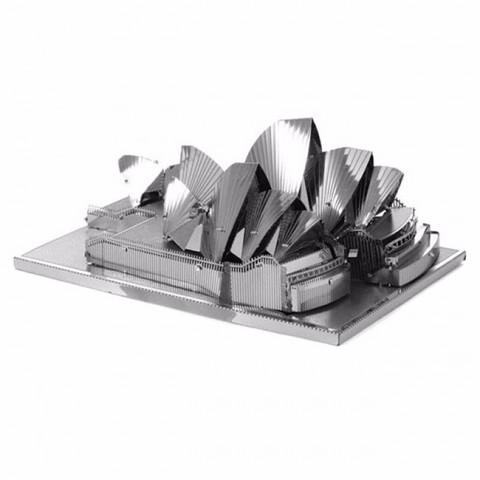 Mô hình lắp ghép kim loại 3D Metal-Nhà hát Sydney