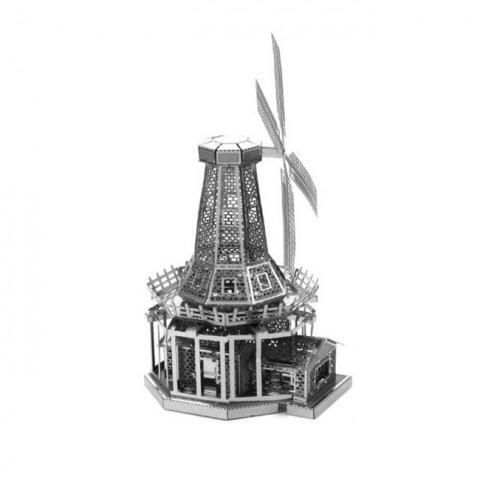 Mô hình lắp ghép kim loại 3D Metal - Cối xay gió