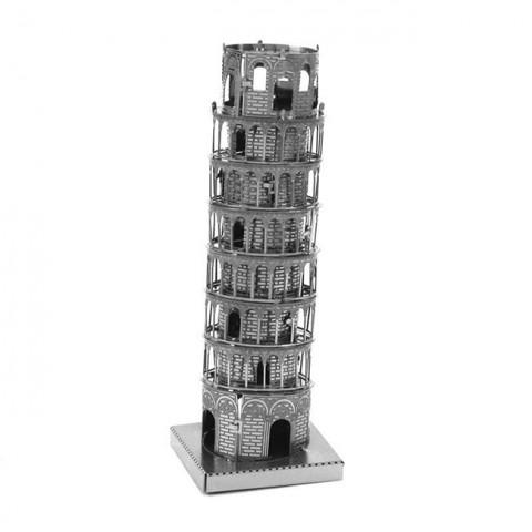 Mô hình lắp ghép kim loại 3D Metal - Tháp nghiêng Pisa