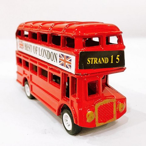 Mô hình xe bus 2 tầng kèm gọt bút chì