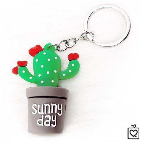 Móc khoá xương rồng Sunny Day