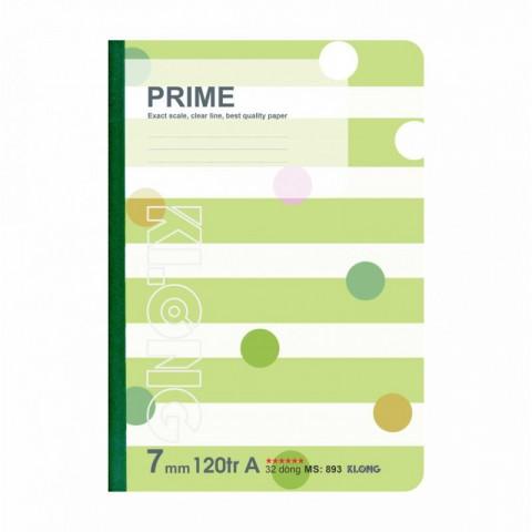 Vở kẻ ngang 120 trang Prime may 70/76 offset KLong - MS893