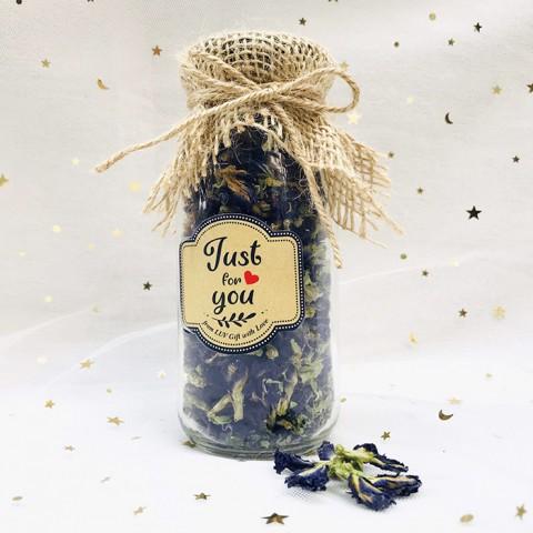 Lọ trà hoa đậu biếc