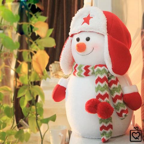 Người tuyết bông giáng sinh