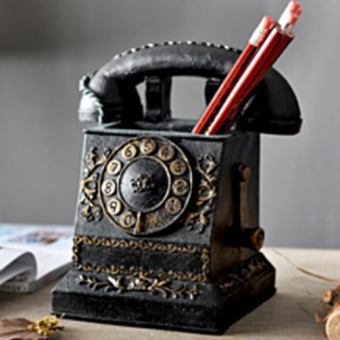Ống đựng bút hình điện thoại cổ điển