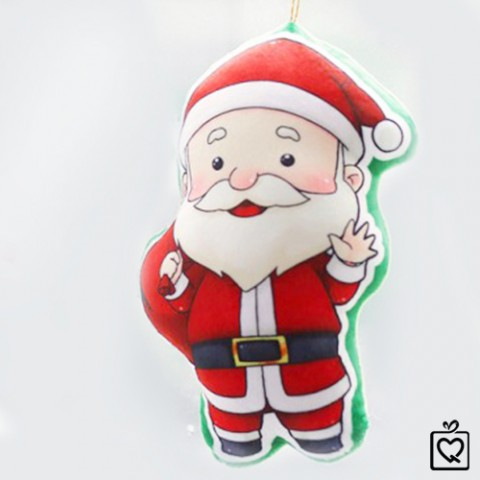 Gối ôm Giáng Sinh phát nhạc NOEL - Quà tặng giáng sinh