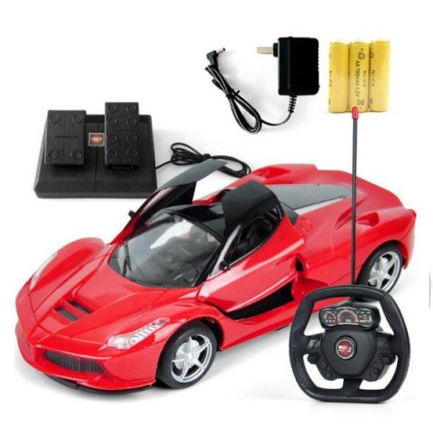Ô tô điều khiển từ xa bằng vô lăng bàn đạp - cảm biến trọng lực